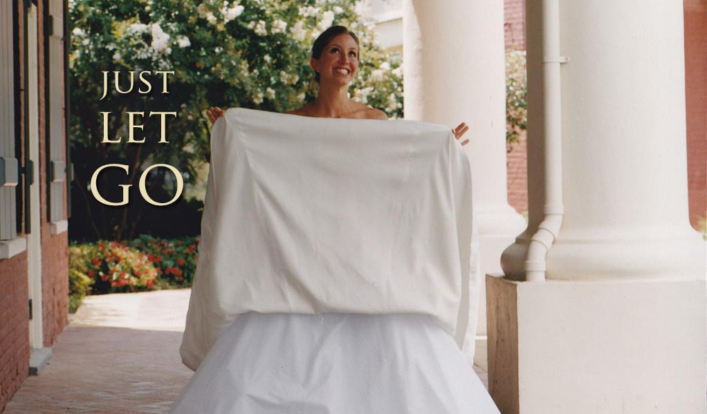 how to spot clean a wedding dress at home